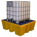 Bac de rétention finition PEHD 1 cubi 1000 l volume 1000 l