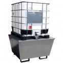 Bac de rétention acier ECO pour 1 cubi de 1000 l