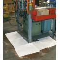 Sac de 100 feuilles d'absorbant pour hydrocarbures 40 cm x 50 cm