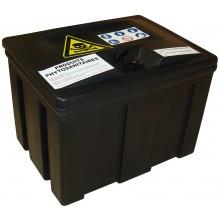Coffre PE 100 l pour le transport de produits chimiques phytosanitaires