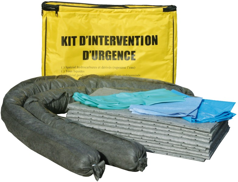 kit absorbant anti pollution. Black Bedroom Furniture Sets. Home Design Ideas
