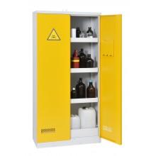 Armoire de sûreté ECO pour produits chimiques haute 2 portes