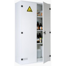Armoire de sûreté pour produits corrosifs haute 2 portes