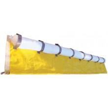 Barrage absorbant hydrocarbure avec jupe PVC réutilisable 20 cm x 5 m