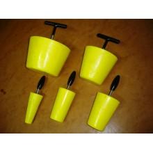 Obturateur conique de canalisation de 35 à 230 mm