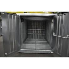 Armoire INTEGRAL 3 m sur Entrepôt de stockage double avec rétention de 1720 litres