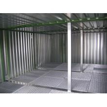 Entrepôt de stockage double 3 modules de 3 m