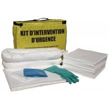 Kit absorbant pour hydrocarbures volume 45 l