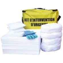Kit absorbant pour hydrocarbures volume 90 l