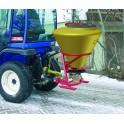 Epandeur à sel acier pour micro-tracteur vol. 125 l